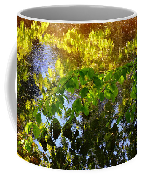 Abstract Coffee Mug featuring the photograph Printemps by Lauren Leigh Hunter Fine Art Photography