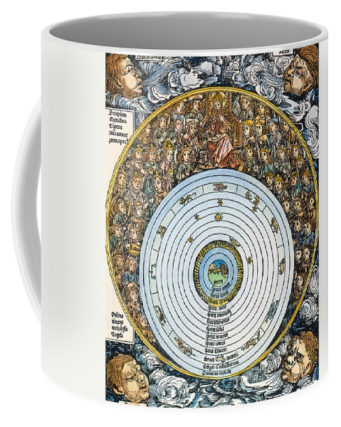 1493 Coffee Mug featuring the photograph Ptolemaic Universe, 1493 by Granger