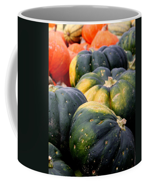 Pumpkin Coffee Mug featuring the photograph Pumpkin Harvest by Christiane Schulze Art And Photography