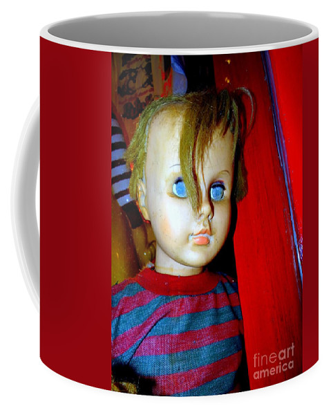 Mannequins Coffee Mug featuring the photograph Punk Boy by Ed Weidman