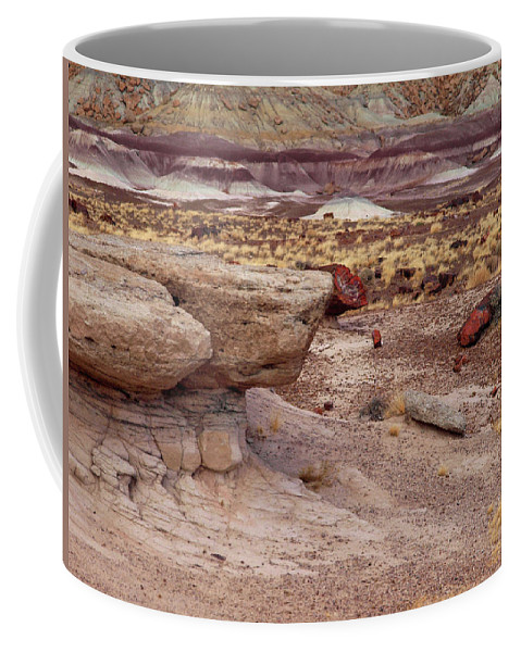 Jim Coffee Mug featuring the photograph Purple Earth by James Peterson
