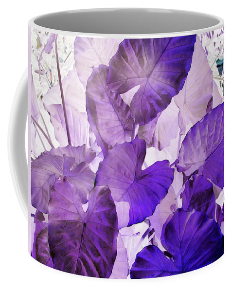 Purple Coffee Mug featuring the photograph Purple Elephants by Debi Singer