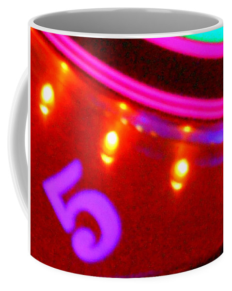 Color Coffee Mug featuring the photograph Purple Five by James Welch