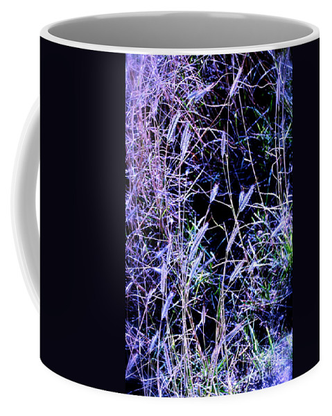 Purple Coffee Mug featuring the photograph Purple Ground Cover by M E Wood