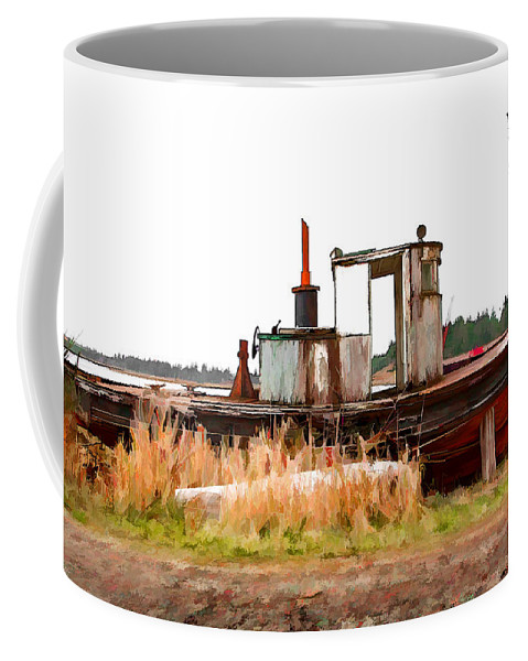Dan Sabin Coffee Mug featuring the photograph Put Up Wet by Dan Sabin