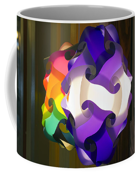 Lamp Coffee Mug featuring the photograph Puzzle Lamp by Kenneth Albin