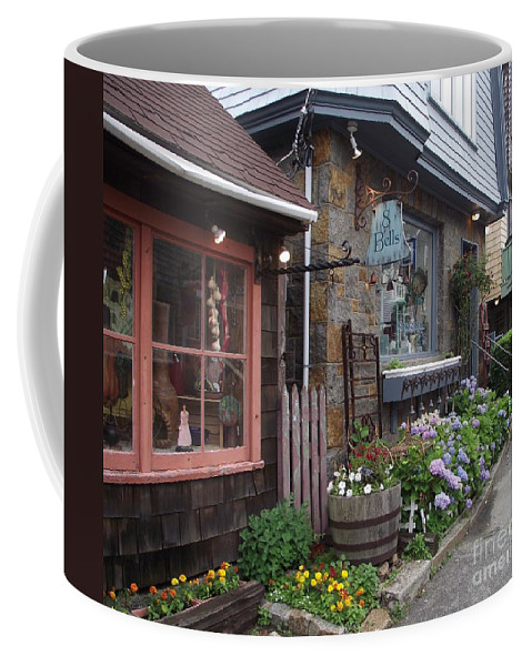 Rockport Coffee Mug featuring the photograph Quaint Rockport by Michelle Welles
