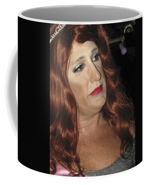 Gay Coffee Mug featuring the photograph Portrait Of A Fire Island Queen by Bob Slitzan