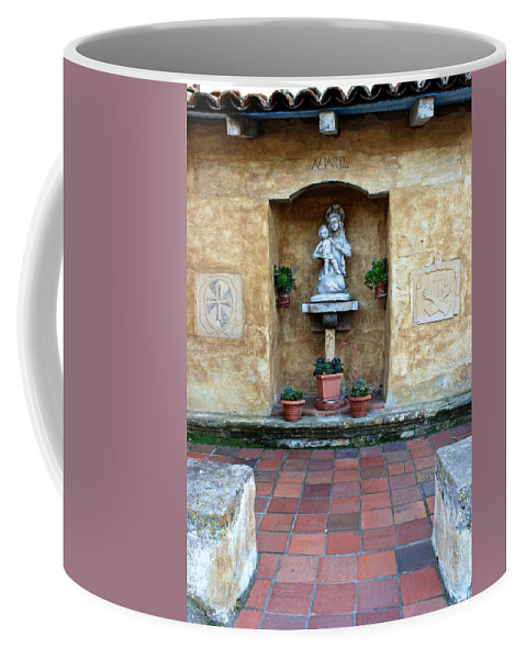 Landscape Coffee Mug featuring the photograph Quiet Square by FlyingFish Foto