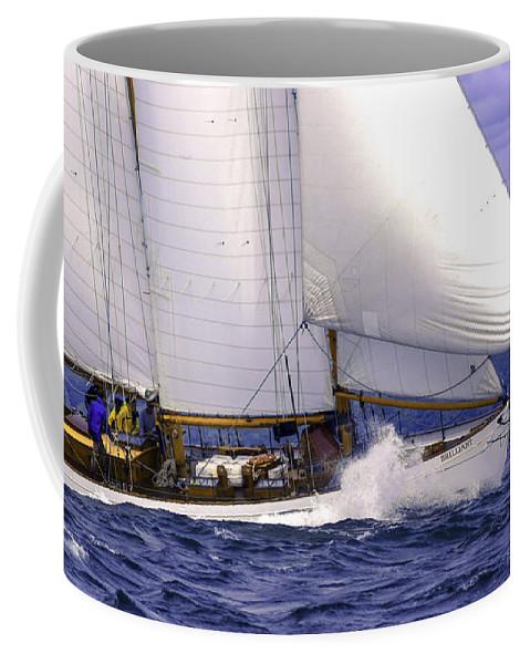 Amistad Coffee Mug featuring the photograph Race Favorite by Joe Geraci