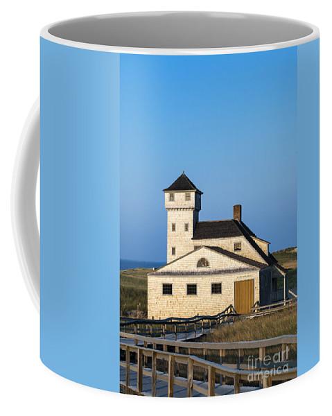 Cape Cod Coffee Mug featuring the photograph Race Point Lifesaving Museum by John Greim