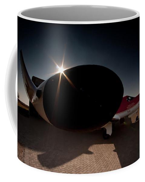 Radar Pod Coffee Mug featuring the photograph Radar On by Paul Job