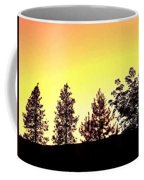 Radiance Of Nature Coffee Mug featuring the photograph Radiance Of Nature by Will Borden