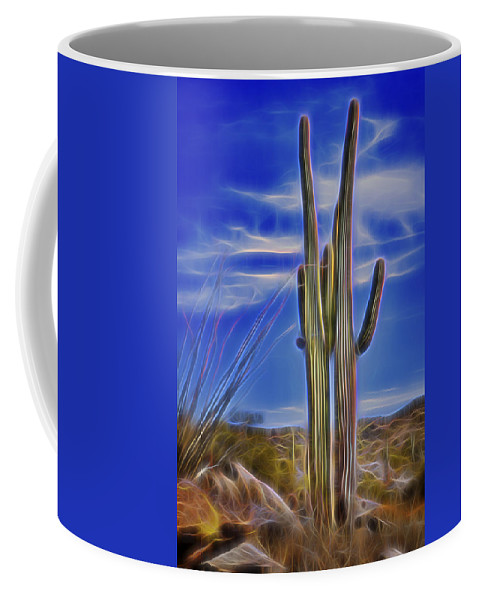Radiant Coffee Mug featuring the photograph Radiant Couple by Kelley King