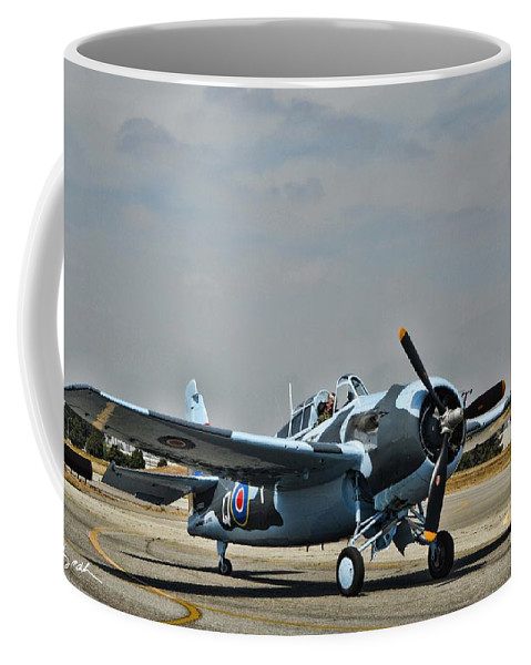 Grumman F4f Wildcat Coffee Mug featuring the photograph Raf Wildcat by Tommy Anderson
