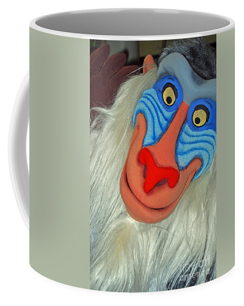 Disney Coffee Mug featuring the photograph Rafiki by Eric Liller