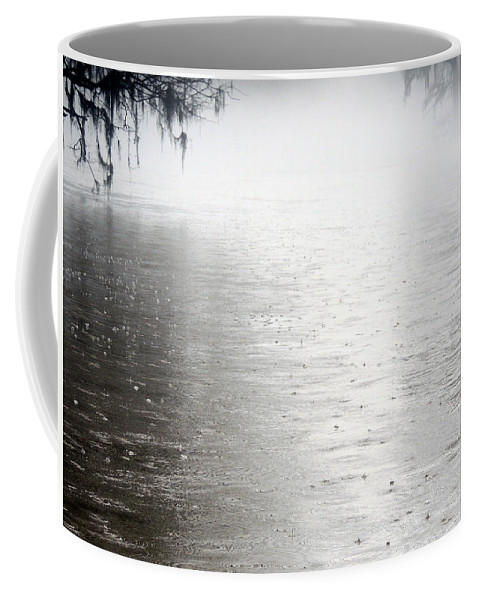 Rising Waters Coffee Mug featuring the photograph Rain On The Flint by Kim Pate