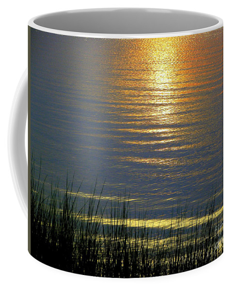 Rainbow Coffee Mug featuring the photograph Rainbow Waters by CapeScapes Fine Art Photography
