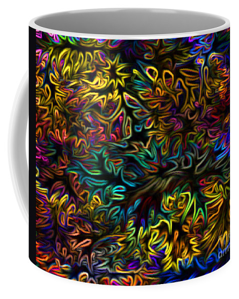 Mixed Media Art Coffee Mug featuring the photograph Rainbows In The Forest by Patricia Griffin Brett