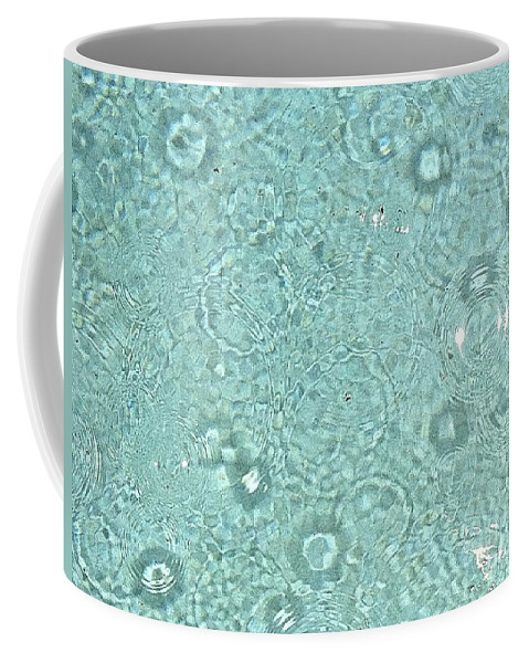 Water Coffee Mug featuring the photograph Raindrops by Melissa Darnell Glowacki
