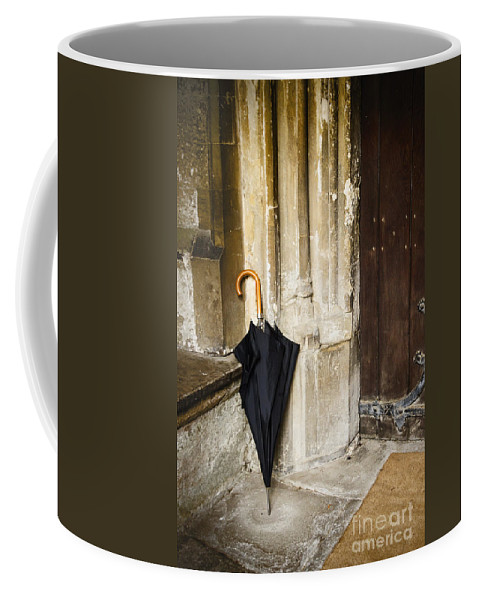 Umbrella Coffee Mug featuring the photograph Rainy Day by Margie Hurwich