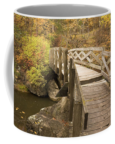 Wooden Coffee Mug featuring the photograph Ramsey Creek Scene 6 by John Brueske