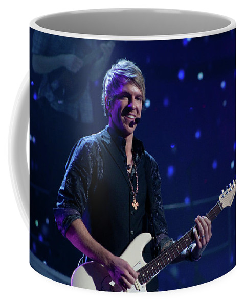 Rascal Flatts Coffee Mug featuring the photograph Rascal Flatts 4991 by Timothy Bischoff