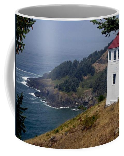 Coast Of Oregon Coffee Mug featuring the photograph Raw Powerful Beauty by Fiona Kennard