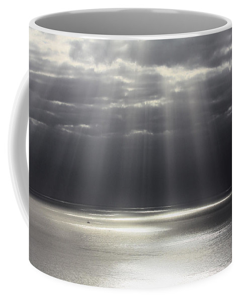 Seascape Coffee Mug featuring the photograph Rays Of Hope by Shane Bechler