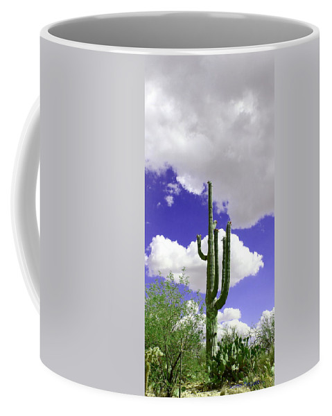 Beautiful Day Coffee Mug featuring the photograph Reach Out And Touch The Sky by Kume Bryant