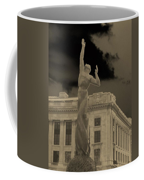 Cleveland Coffee Mug featuring the photograph Reaching For The Stars by Wendy Gertz