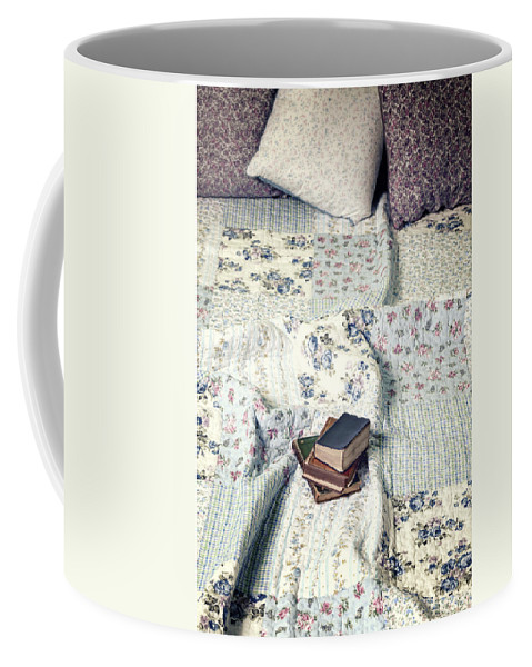 Book Coffee Mug featuring the photograph Reading Time by Joana Kruse