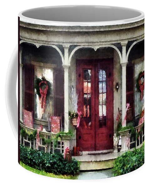 Winter Coffee Mug featuring the photograph Ready For Christmas by Susan Savad