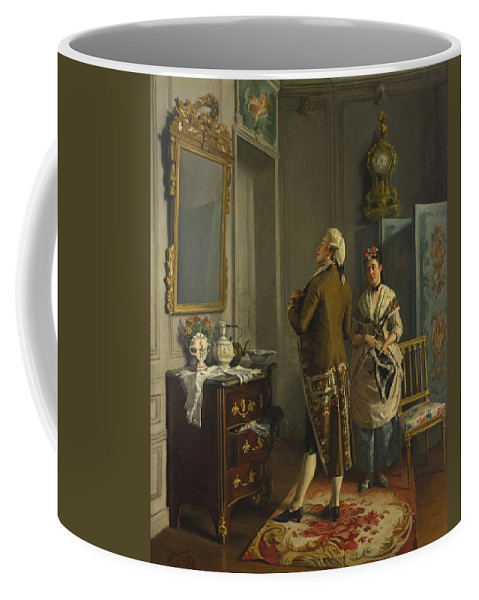 Francois Brunery Coffee Mug featuring the painting Ready For The Ball by Celestial Images
