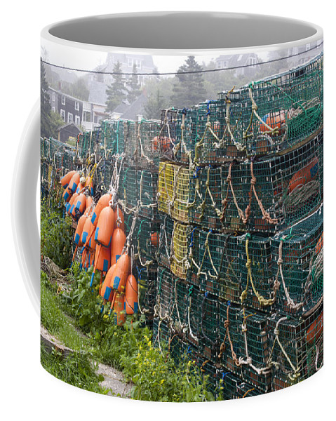 Lobster Coffee Mug featuring the photograph Ready To Go by Jean Macaluso