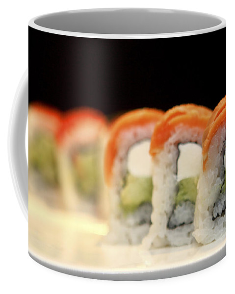Sushi Coffee Mug featuring the photograph Ready To Serve Sushi by Gal Eitan
