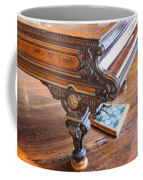 Chickering Piano Coffee Mug featuring the photograph Really Grand by Rich Franco