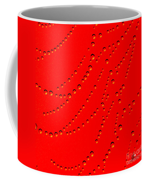 Red Coffee Mug featuring the photograph Red Abstract by Ronald Grogan