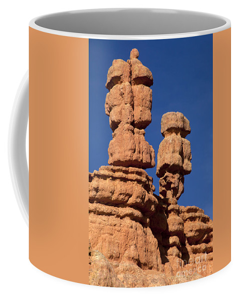 Canyon Coffee Mug featuring the photograph Red Canyon Utah by Anthony Totah