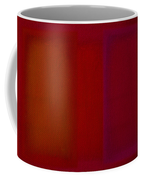 Rothko Coffee Mug featuring the painting Red by Charles Stuart