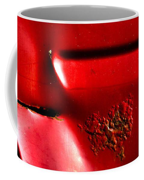 Toyota Coffee Mug featuring the photograph Red Gash by Jeff Kurtz