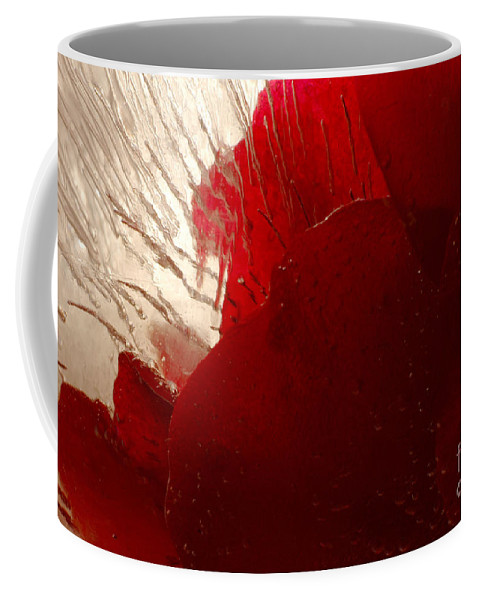 Rose Coffee Mug featuring the photograph Red Ice by Randi Grace Nilsberg