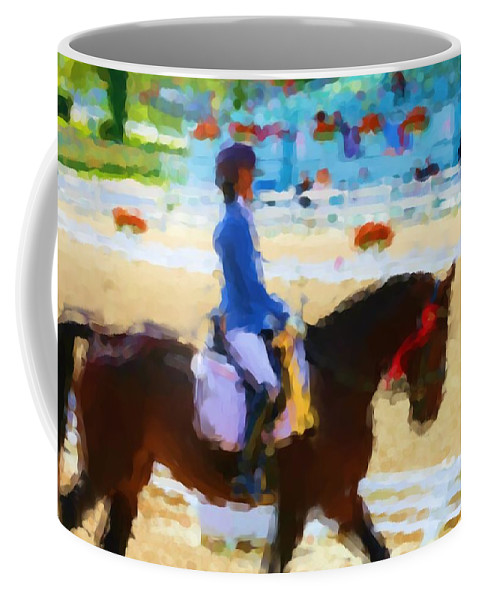 Red Ribbon Coffee Mug featuring the photograph Red Ribbon by Alice Gipson