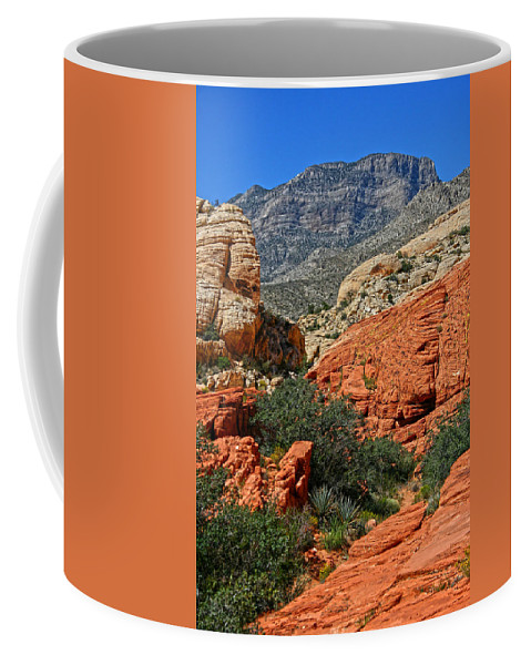 Red Rock Canyon Coffee Mug featuring the photograph Red Rock Canyon 6 by Chris Brannen