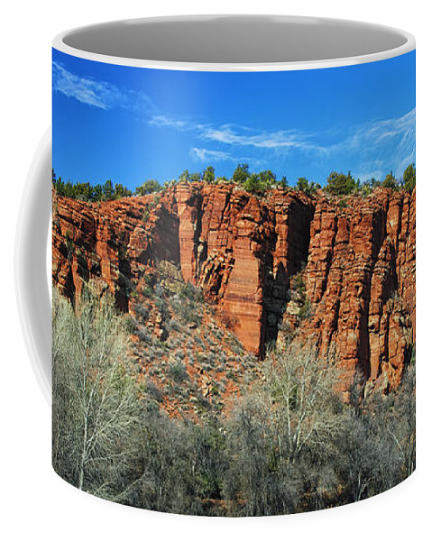 Arizona Coffee Mug featuring the photograph Red Rock State Park by Phill Doherty