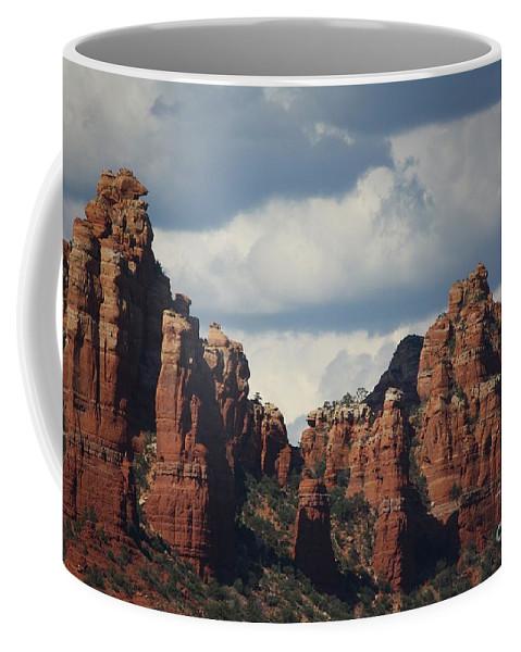 Sedona Coffee Mug featuring the photograph Red Rocks Of Sedona by Veronica Batterson