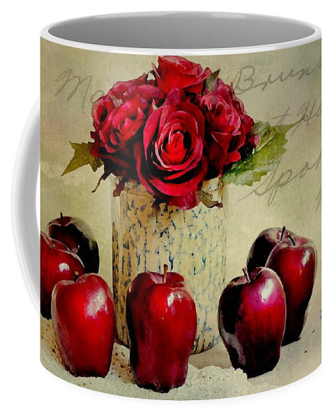 Still Life Coffee Mug featuring the photograph Red To Red by Diana Angstadt