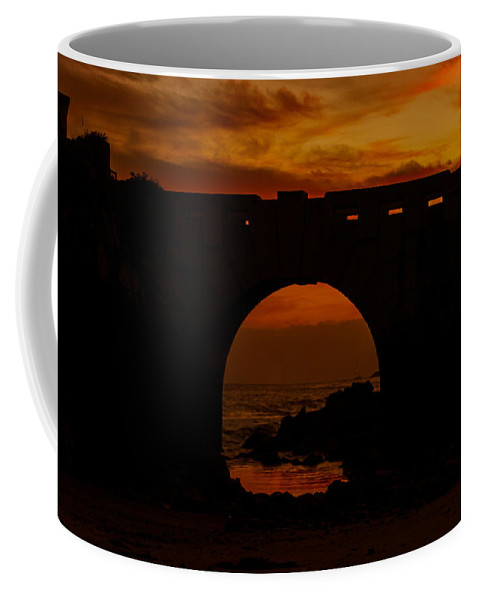 Red Twilight Coffee Mug featuring the photograph Red Twilight II by Marco Oliveira