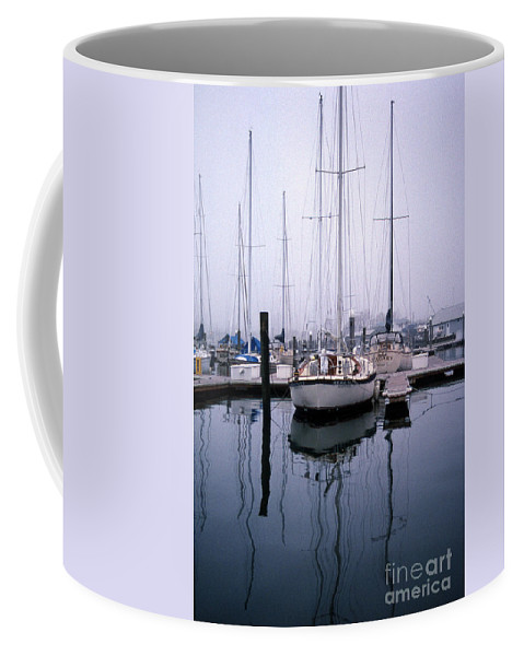 Maritime Coffee Mug featuring the photograph Refections Of Serenity by Skip Willits