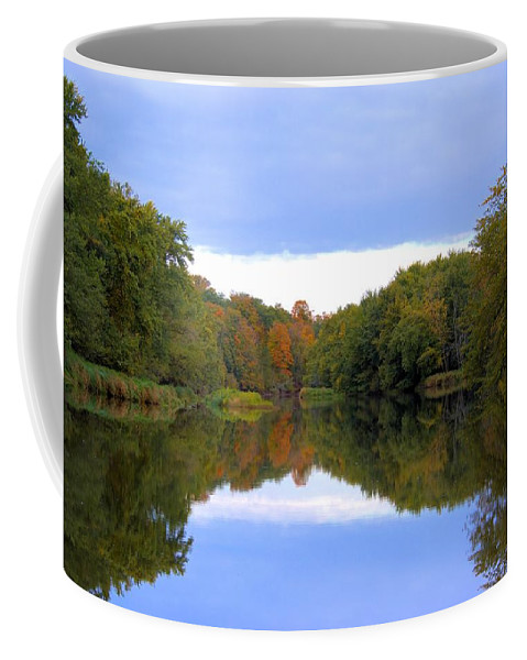 Reflecting Coffee Mug featuring the photograph Reflecting by Bonfire Photography